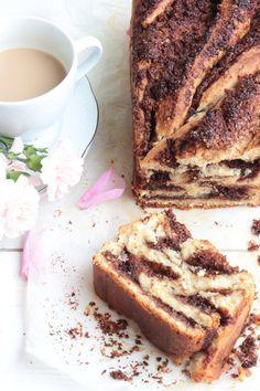 Csokis-kókuszos kalács Ring Cake, Salty Snacks, Winter Food, Pound Cake, Scones, Banana Bread, French Toast, Bakery, Food And Drink