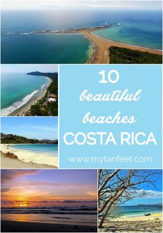 10 beautiful beaches in Costa Rica - a must see for every traveler! http://mytanfeet.com/costa-rica-beach-information/best-beaches-in-costa-rica/