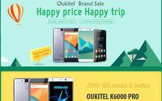 Smartphones Oukitel K6000 Pro y K4000 Pro en promoción, junto a otros modelos, hasta el próximo 12 de mayo. Gran oportunidad para conseguir el mejor precio.