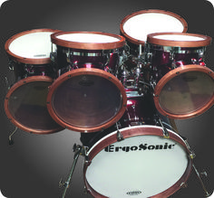 Angled Shell Drum Set (NEW) — ErgoSonic Percussion
