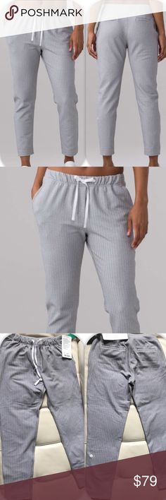 NWT HERRINGBONE LULULEMON JET CROP SLIM -- 4 Brand: Lululemon Athletica Jet crop slim       Condition: New with tag || Size 4 || Choose your size || Gray heathered herringbone  NO TRADES  NO LOWBALL OFFERS  NO RUDE COMMENTS  NO MODELING  ☀️Please don't discuss prices in the comment box. Make a reasonable offer and I'll either counter, accept or decline.   I will try to respond to all inquiries in a timely manner. Please check out the rest of my closet, I have various brands. Some new…