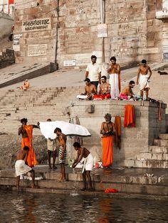 Life on the Ganges, Varanasi,India. Goa India, Varanasi, People Around The World, Around The Worlds, Udaipur, Jaisalmer, India Travel, Tourism India, India Trip