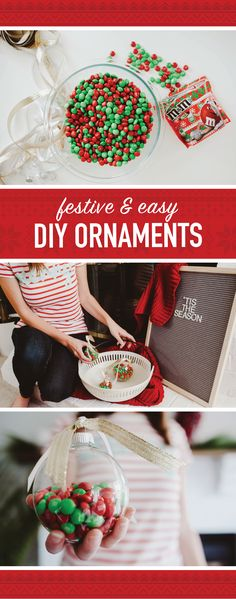 15 easy mason jar christmas decorations you can make yourself diy mms ornaments solutioingenieria Images