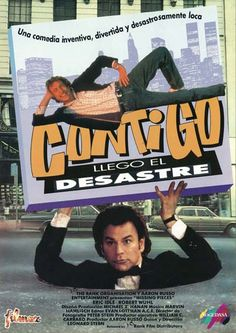 """Contigo llegó el desastre (1992) """"Missing Pieces"""" de Leonard Stern - tt0102453"""