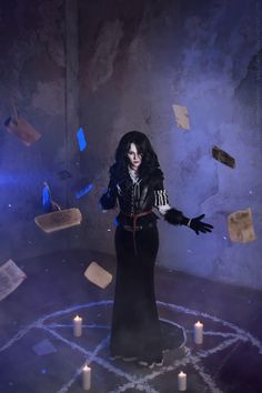 Character: Yennefer of Vengerberg / From: Andrzej Sapkowski's 'The Witcher' Short Stories and Novels & CD Projekt RED's 'The Witcher' Video Game Series / Cosplayer: Vera Green (aka Verisa cosplay - ver1sa)