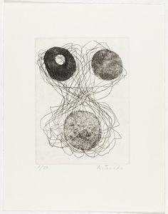 Untitled from for 1954  Atsuko Tanaka (Japanese, 1932-2005)