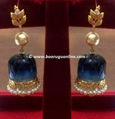 Cute Glass buttalu (earrings) perfect for any occasion. Upper top is changeable (Available in Light blue, Black, Maroon, Yellow, Green)  Product Code: BRG-129 For details, Please drop us a message in inbox  OR  Call/Whatsapp India: +91 92472-80331  Call/Whatsapp USA: +1 512-395-5588, +1 623-734-4195  OR Email us at booruguonline@gmail.com © www.booruguonline.com