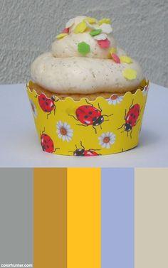 Vanilla Cupcakes Color Scheme
