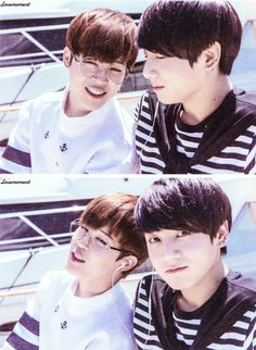 NOW2 LA Photoshoot - Jimin & Jungkook scans ♡