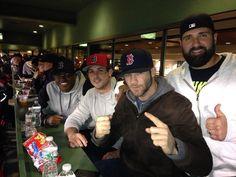 Danny Amendola, Julian Edelman and Rob Ninkovich (New England Patriots players)