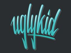 T-shirt design for Ugly Kid Clothing...