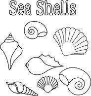 Image Result For Shell Clipart Black And White Fundo Do Mar Desenho Decoracao Fundo Do Mar Patchwork