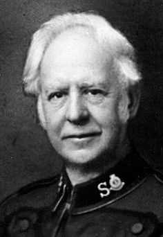 Bramwell Booth, born on this day 8th March 1856. Son of William Booth, founder of the Salvation Army. First Chief of Staff, 1881–1912, and succeeded his father as General of the SA. Married Florence.