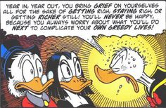 When Donald Duck speaks truth. Don Rosa