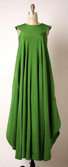 Madame Grès (Alix Barton)  (French, Paris 1903–1993 Var region) Date: late 1960s Culture: French Medium: silk