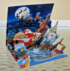 3D Christmas Card | Made by Up With Paper. Blogged: www.allt… | Flickr