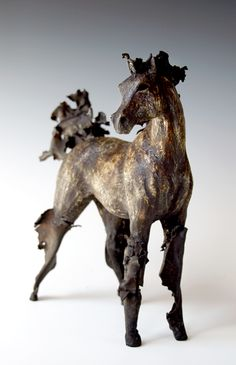 Anne Russell equine sculpture