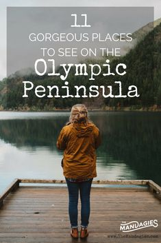 11 attractions on the Olympic Peninsula - including La Push Second Beach, Lake Crescent, Hoh Rainfor Olympic National Forest, National Parks, Olympic National Park Camping, Places To Travel, Places To See, Travel Destinations, Seattle Travel, Vancouver Travel, Olympic Peninsula