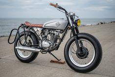 8negro: Honda TMX 155 Brat:: Revolt Motorcycles.