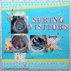 Spring Visitors - Scrapbook.com