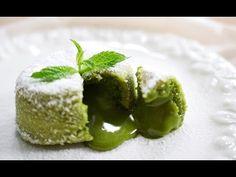 Resep: Matcha (Green Tea) Molten Lava Cake Recipe - YouTube
