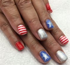 Day 145: Memorial Day Nail Art - - NAILS Magazine