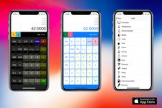 New version of My RPN Calc with iPhone X support is out. See See http://calc.lsrodier.net and https://itunes.apple.com/us/app/my-rpn-calc/id807032892 for details.