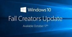 Microsoft Windows 10 Fall Creators Releases date Confirmed  Microsoft Windows 10 Fall Creators Releases date Confirmed  Tech giant Microsoft just confirmed the release date of its next major update to the windows 10 the Fall creator update. We have already covered the newly introduced features on windows 10 in our previous article where we talked about the Windows 10 creator update and it features. The Fall creator update is intended to bring a lot of improvement to the creator update and…