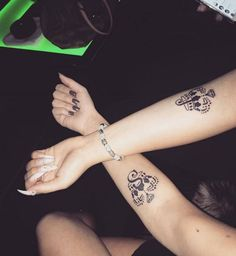 ♛S♛J♛  Best friends #tattoo ^^  #inked #babyblue #babyblueart #babybluetattoo #tattooed #girls #inkedgirls #tattooedarm #smalltattoo #crowntattoo #crown #design #custom #customdesign #customtattoodesign #pinit #pin #followme #nails  CHECK AND LIKE MY FACEBOOK: https://www.facebook.com/followbabyblue/