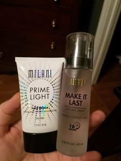 $ 10 each Milani Primer and Setting Spray   Setting spray gets good reviews all around, primer may be too glittery. Test in store and maybe get prime perfector