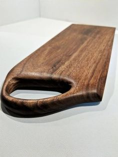Hand Carved Walnut wood cutting board, serving board, or cheese board.