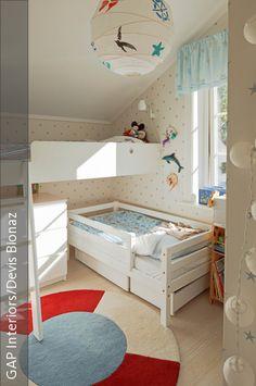 Kinderzimmer ideen für zwei babys  Kinderzimmer für zwei Lausebengel - Kinderzimmerideen - Mamahoch2 ...