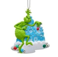 Grinch Stole Christmas, Christmas Holidays, Christmas Tree, Holiday Ornaments, Christmas Decorations, Holiday Decor, Dr Seuss Grinch, Child Please, My Favorite Part