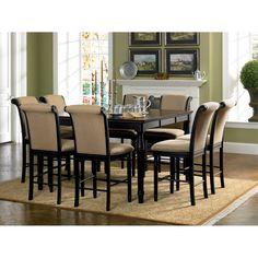 Coaster Cabrillo 9 Piece Counter Height Dining Table Set - COA3284