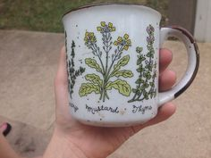 """opalbby: """"found a cute cup outside of the jail """" Boho Home, Cute Cups, Mug Cup, Decoration, Coffee Cups, Tea Pots, Artsy, Crafts, Future"""