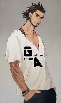 Twitter. Gladiolus Final Fantasy XV