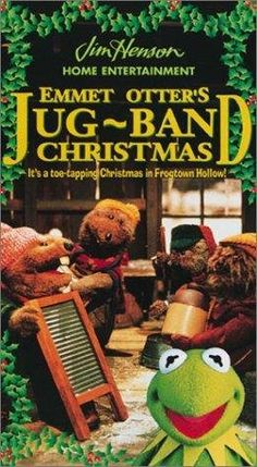 """""""Emmet Otter's Jug-Band Christmas,"""" 1977 television special by Jim Henson. Christmas Shows, Christmas Music, Christmas Movies, Christmas Tv Specials, Muppets Christmas, Christmas Classics, Christmas Videos, Holiday Movies, Christmas Cartoons"""