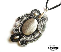 sutaszowa biżuteria | chabrowo czarny dla koleżanki