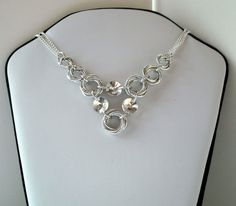 Crystal Vortex Luminous Swarovski Crystal Necklace