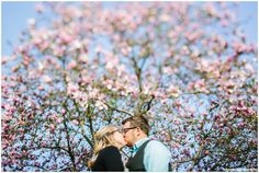 Cindy & Will Spring Engagement, Frederick Maryland Wedding Photographer