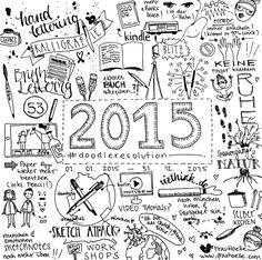 ...und was ist deine #doodleresolution für 2015? (inkl. Gewinnspiel