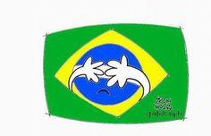 Brasil envergonhado Tom Phillips, Superhero Logos, Sonic The Hedgehog, Disney Characters, Fictional Characters, Moral, Cultural, Newspaper, Editor