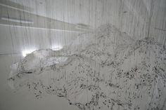 Ethereal Glue Sculptures by Yasuaki Onishi | Hi-Fructose Magazine