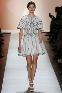 Best Luxe Looks NYFW: Herve Leger by Max Azria | The Luxe Lookbook