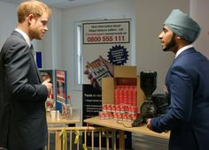 Prince Harry visiting Nottinghamshire Police sees goods seized after failing trading standards
