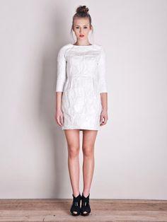 """Paper"" dress from polish designer brand RISK made in warsaw.        $200        http://odprojektanta.pl/pr-66/risk-made-in-warsaw-Sukienka-koktajlowa-z-tyveku.html  http://odprojektanta.pl/pr-66/risk-made-in-warsaw-Sukienka-koktajlowa-z-tyveku.html        Contact: bok@odprojektanta.pl"