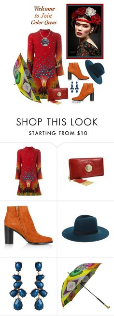 """Welcome to Join Color Queens!"" by ragnh-mjos ❤ liked on Polyvore featuring Valentino, Chloé, Janessa Leone and Amrita Singh"