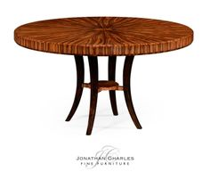 Deco round dining table (High lustre) #hpmkt #jcfurniture #jonathancharles #Furniture #InteriorDesign #decorex #santos
