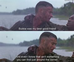 That is the sweetest thing ever!!!! Forest gump...