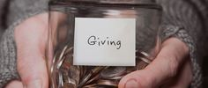 """It's too easy to slip into selfishness. Be intentional about giving.""  The Payoffs of Generous Living - daveramsey.com"